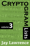 Cryptogram Lists, Volume 3