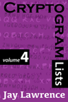 Cryptogram Lists, Volume 4