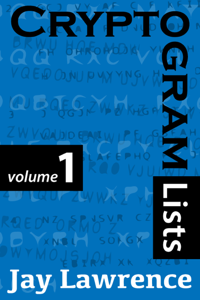 Cryptogram Lists, Volume 1