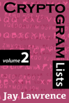Cryptogram Lists, Volume 2